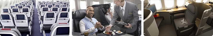 interior & service American Airlines