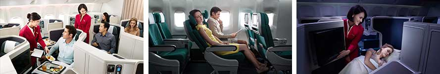 Service on Cathay Pacific