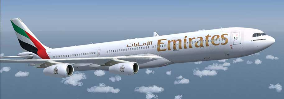 tiket pesawat Emirates flights
