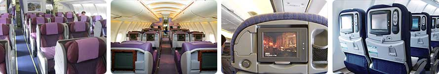 interior & service China Airlines