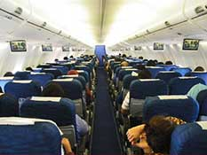 interior Sriwijaya Air