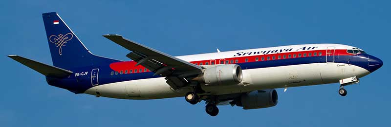 tiket pesawat Sriwijaya Air