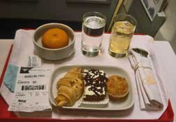 sriwijaya meal on board