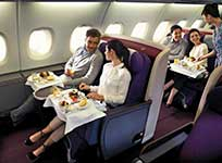 interior Malaysia Airlines