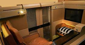 interior Etihad Airways
