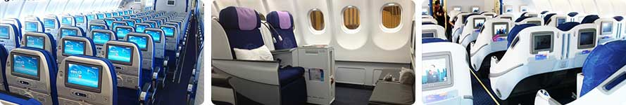 interior and service China Eastern Airlines