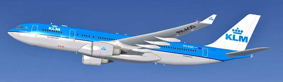 tiket pesawat KLM
