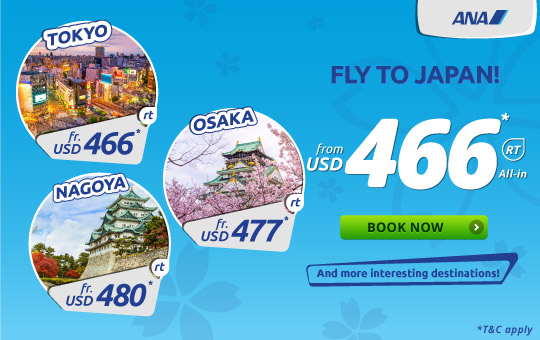 All Nippon Airways, Fly to Japan!