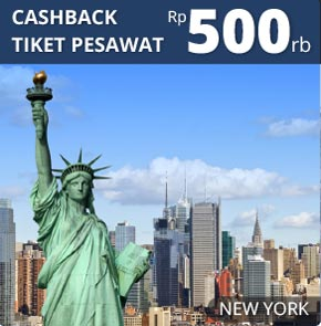 Jakarta Ke New York City Tiket Pesawat Cgk Nyc Tiket Murah Dari