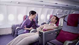 thai airways business class seat