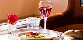 Oman Air Inflight Dining
