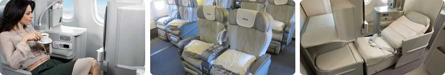 interior & stewardess Alitalia