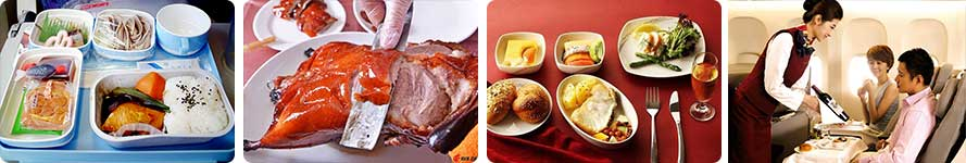 Service & Food Air China Flight
