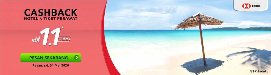 Promo Travel Kartu Kredit Hsbc S D 1 1 Jt Des 19 Nusatrip Com