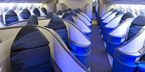 air canada business class classic pod cabin