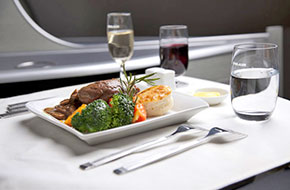 eva air onboard meal