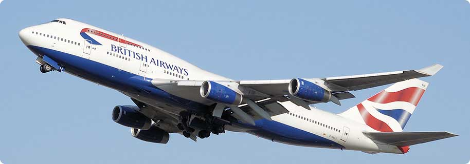 tiket pesawat British Airways