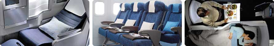 interior & pramugari British Airways