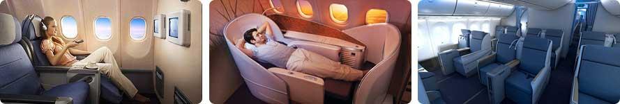 interior & pramugari China Southern Airlines