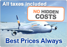 no hidden cost and fees, price all inclusive