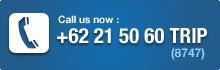 NusaTrip 24/7 call center, phone number +62 21 5060 8747