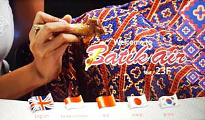 batik air in flight menu
