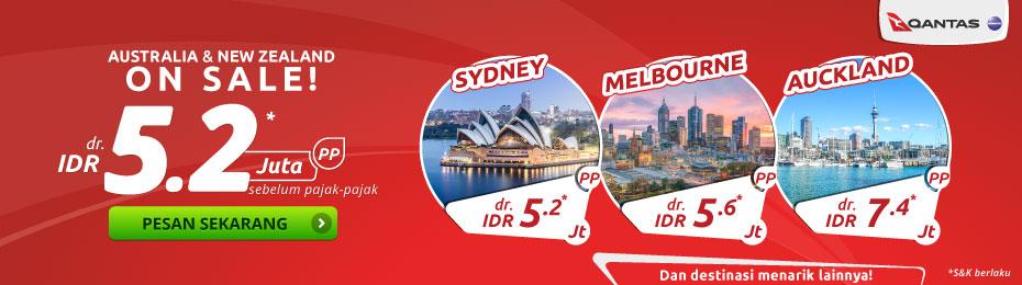 Qantas Promo Tiket Murah Dr Idr 5 2jt Pp Juli 2019