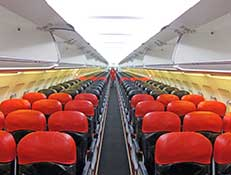 airasia flight interior