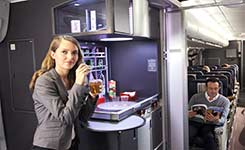 Air France coffee break
