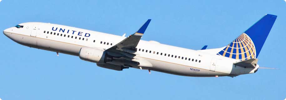 tiket pesawat United Airlines Flight