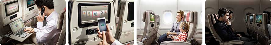 Interior & Service Asiana airlines