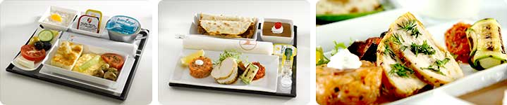 Interior & makanan Turkish Airlines
