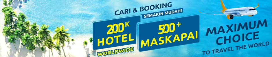 Tiket Pesawat Hotel Online Travel Domestik Internasional Harga Murah