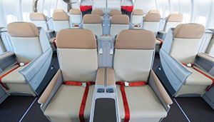 Thai Lion Air premium economy seat
